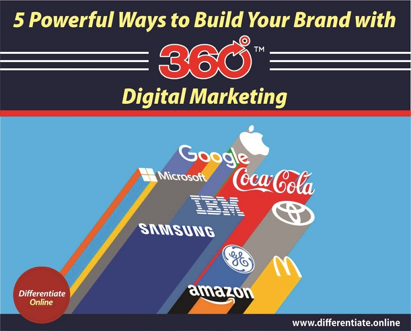 5 Powerful Ways To Build Your Brand With 360 Digital