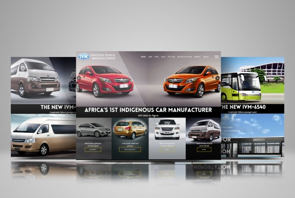 Innoson Motors Website Screenshot